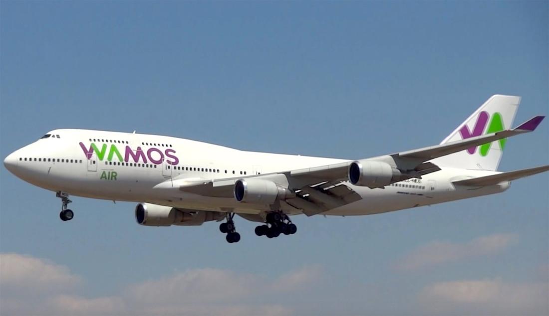 Compañía aérea Wamos