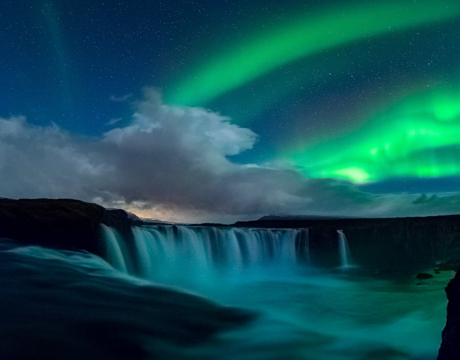 Cascada de Godafoss, Islandia - Fotografía de David Aguilar